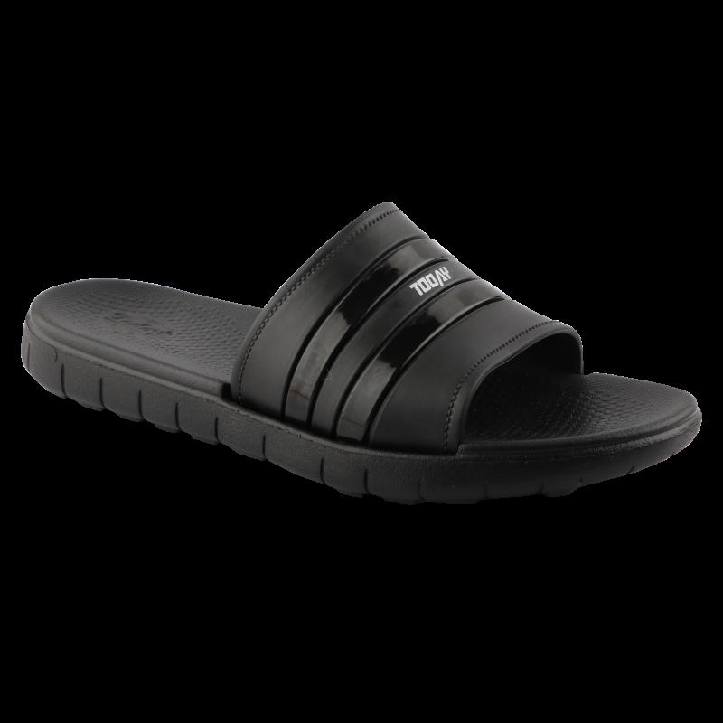 Comforz Classic Black Flip Flops