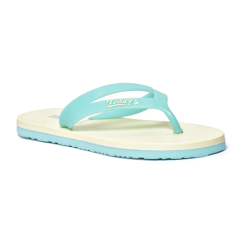 Candy C.Green/Yellow Slippers for Women