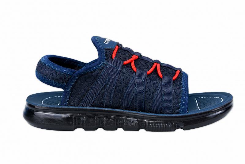 COMFORZ CMK-205 Blue Elastic lace Sandals for Kids