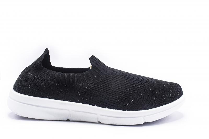Comforz CMW-602 Black Sports Shoes For Women