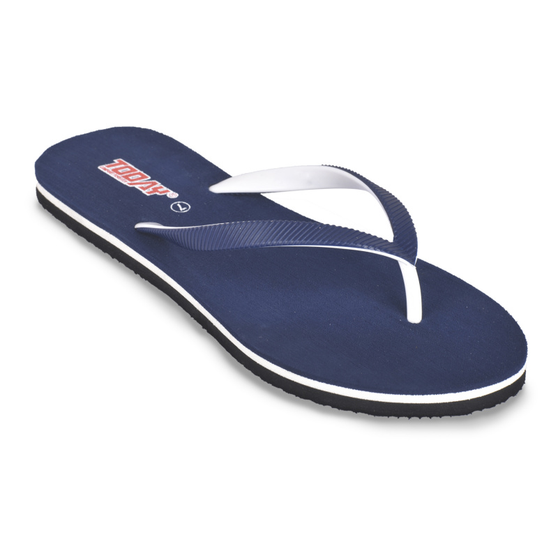 Comforz Navy Blue Casual Slippers