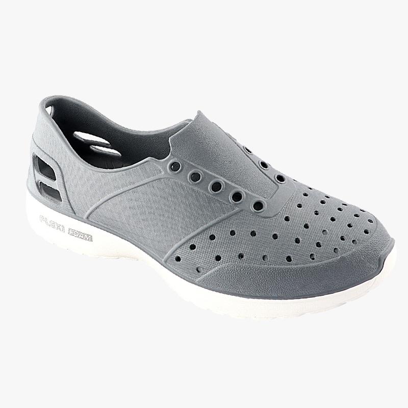 Comforz Flexi Foam Grey & White Sports Shoes