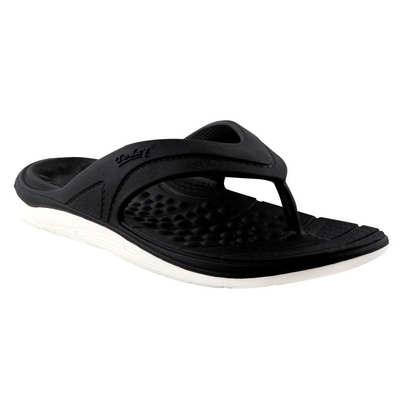 Comforz White/Black Flip-Flop